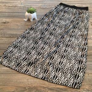 Dresses & Skirts - Black & White Maxi Skirt